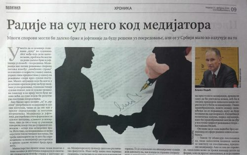 Blažo-Nedić-Politika
