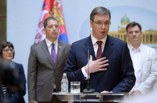Premijer Vučić