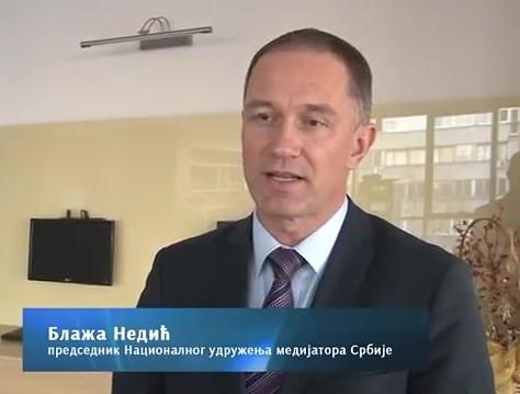 Blažo Nedić o medijaciji i advokaturi