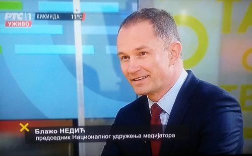 Emisija na RTS o medijaciji