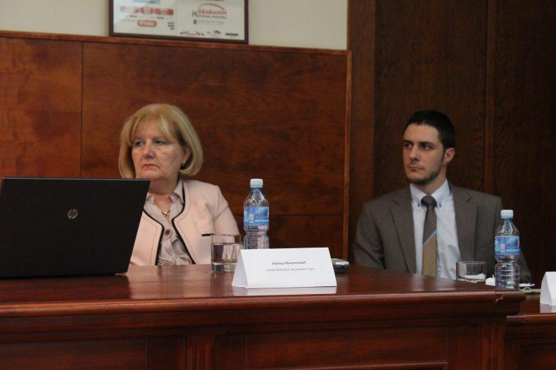 Ljubica Milutinović i Gorazd Đurović