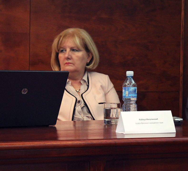 Sudija Ljubica Milutinović o medijaciji