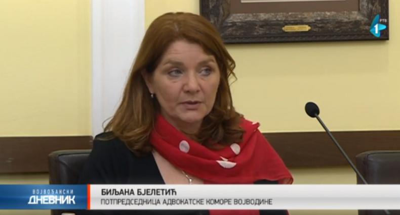Adv Biljana Bjeletić – Advokatska komora Vojvodine Centar za medijaciju