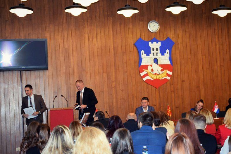 Blažo Nedić i Gorazd Đurović Međunarodni seminar o medijaciji