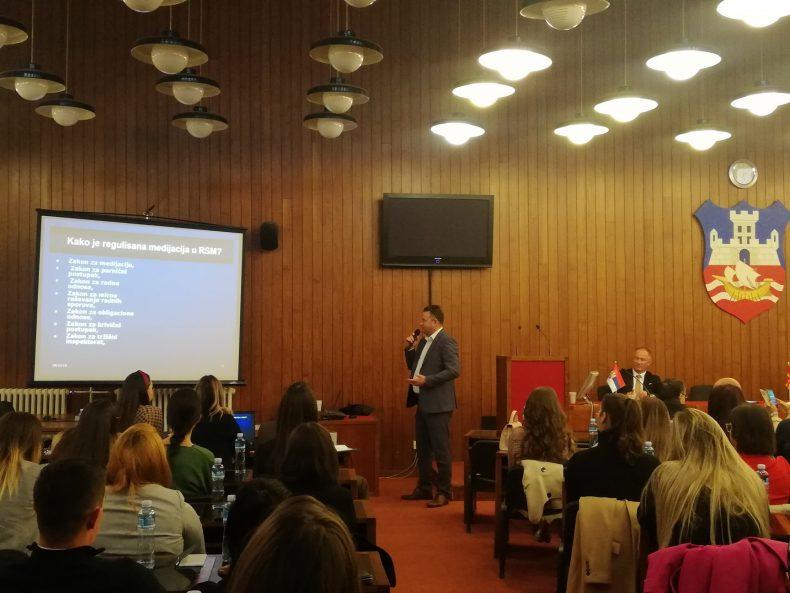 dr Zoran Vučev – Međunarodni seminar o medijaciji